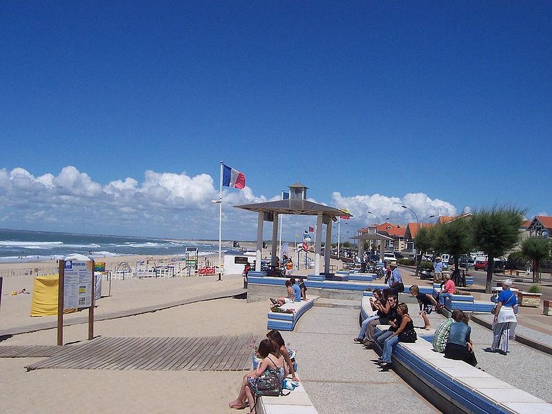 Front de mer de Soulac