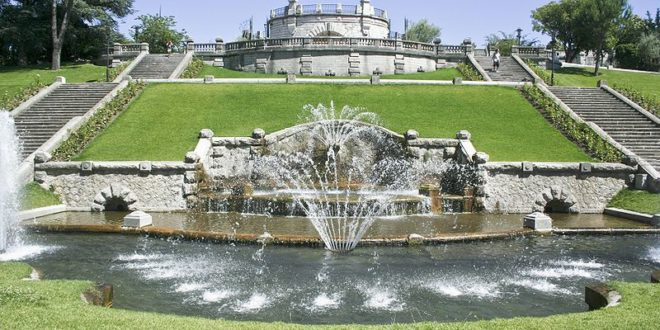 Le parc Jouvet à Valence-sur-Rhône