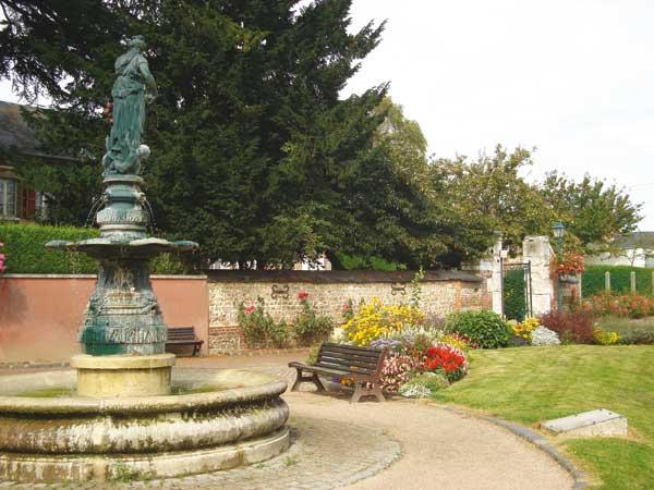 Fontaine Saint-Louis à Yvetot