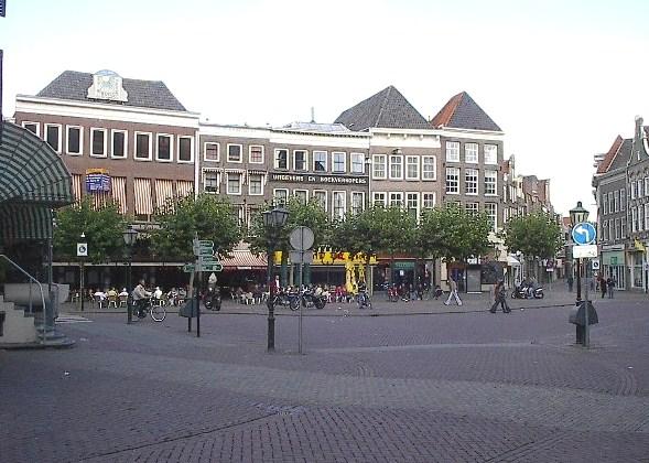 Place du marché de Zwolle