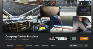 Camping-Cariste Bricoleur