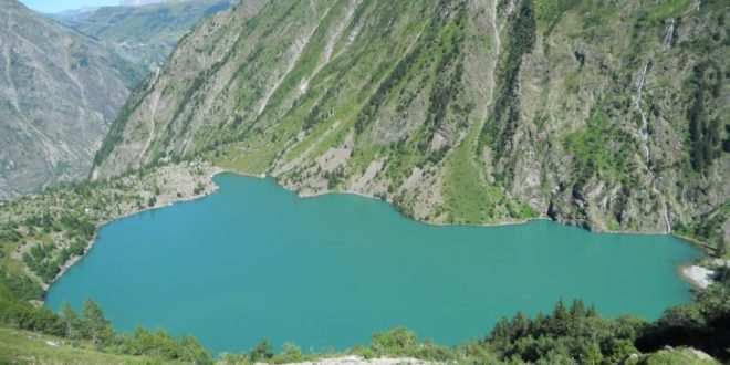 Lac Lauvitel au Bourg-d'Oisans