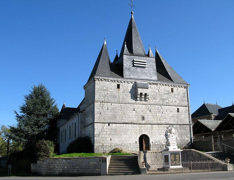 Eglise fortifiée de Liart