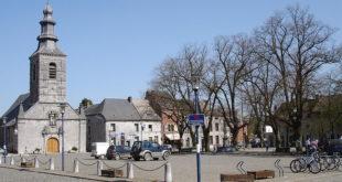 Place Marie de Hongrie à Mariembourg