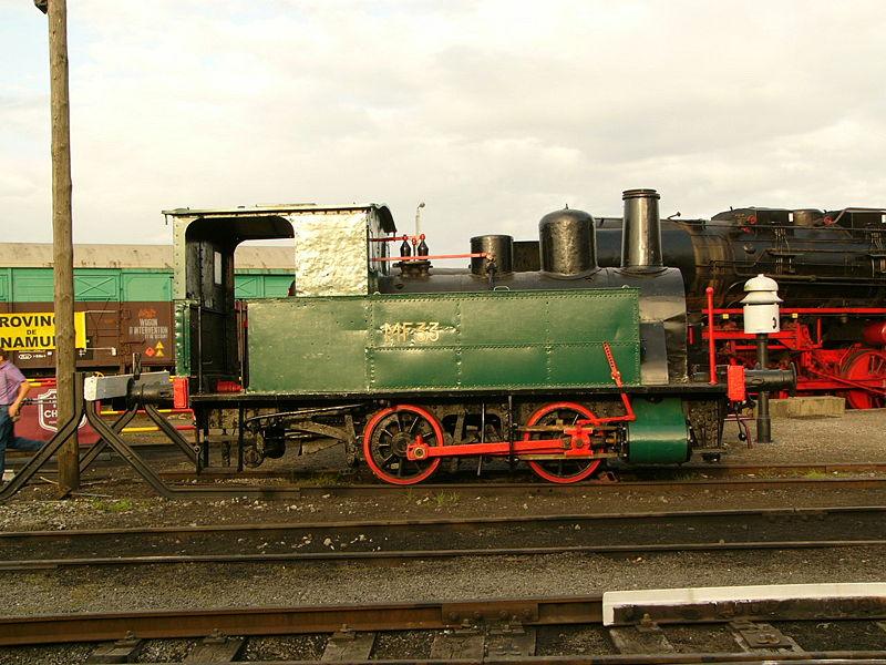 Chemin de fer à Vapeur à Mariembourg