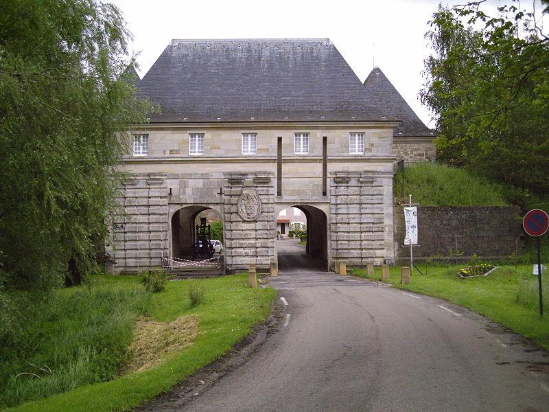 Porte de France à Marsal