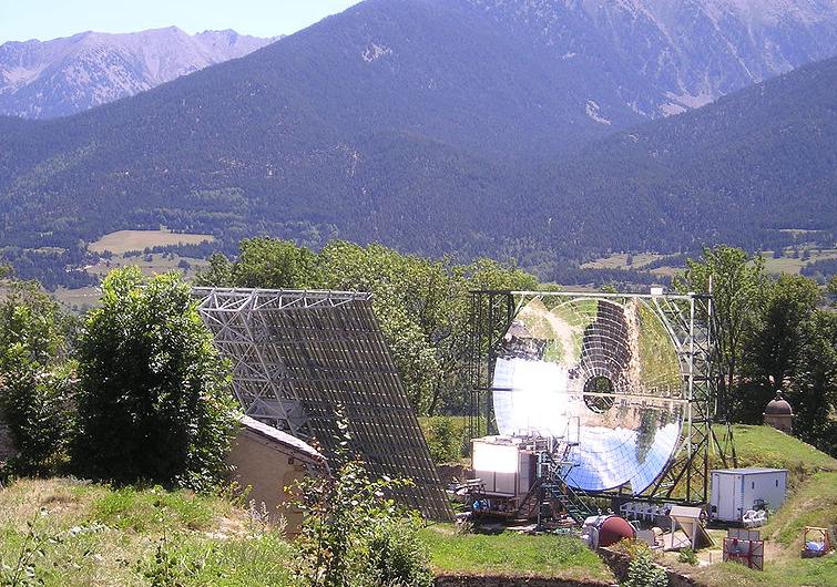 Four solaire de Mont-Louis