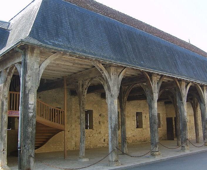 Halle des Cadreux à Montrésor