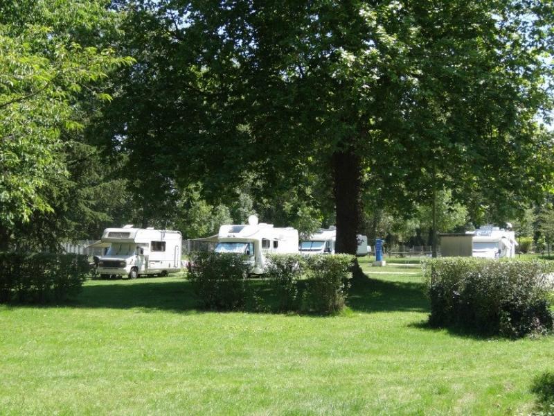 Aire de camping-car à Moulins
