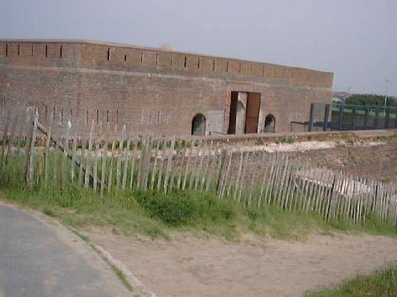 Fort Napoléon près d'Ostende