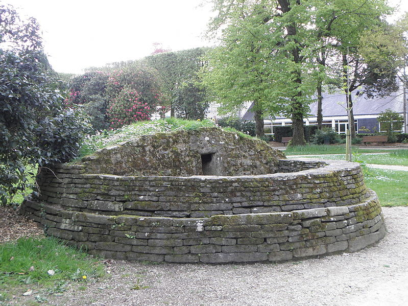 Tumulus de Nizillien à Pontivy