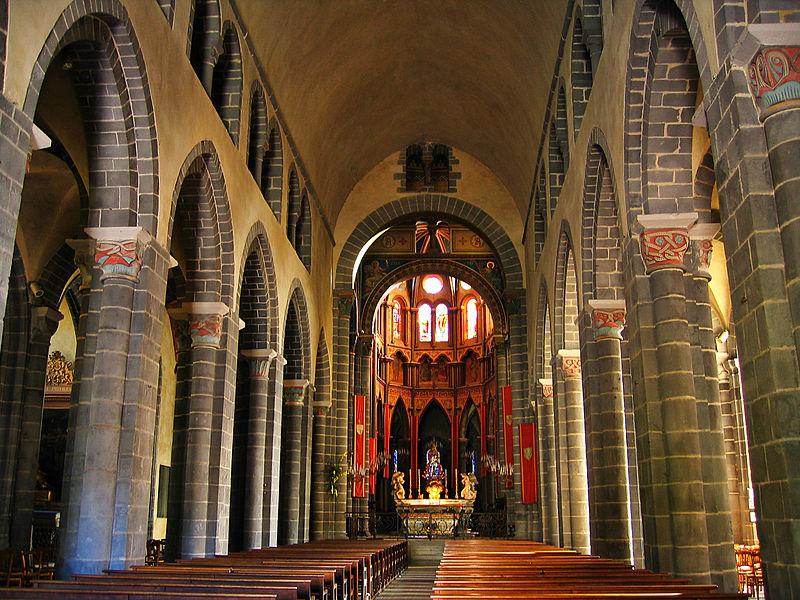Eglise Saint-Amable à Riom
