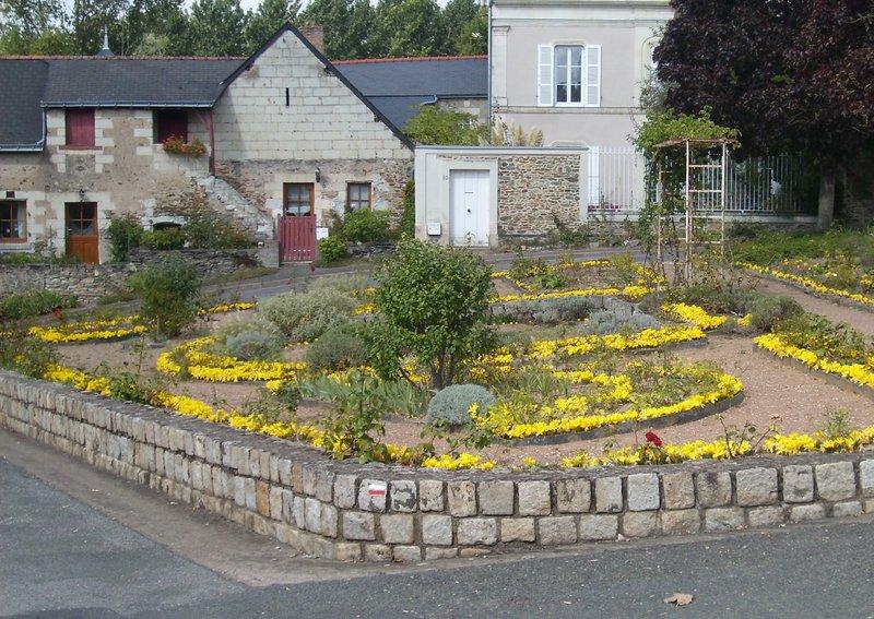 Place du Pilori à Rochefort-sur-Loire