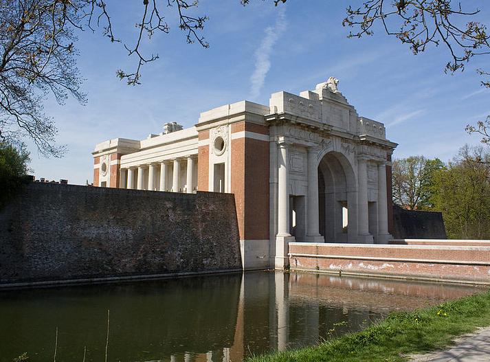Porte de Menin à Ypres
