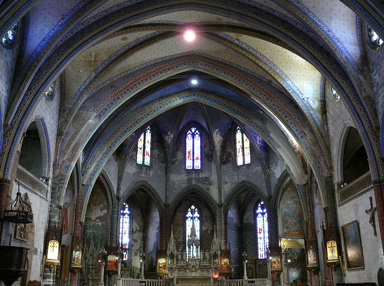 Cathédrale Saint-Maurice à Mirepoix