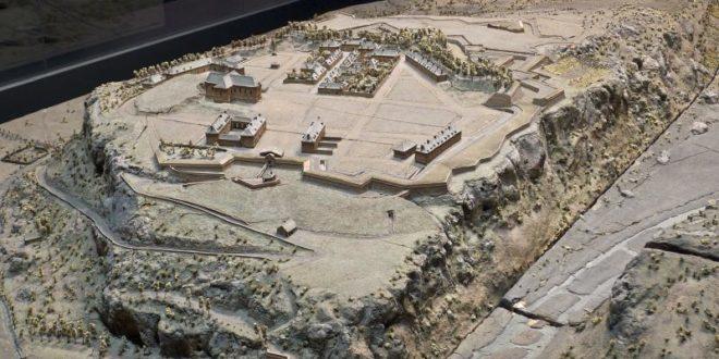 Maquette des fortifications du Mont Dauphin