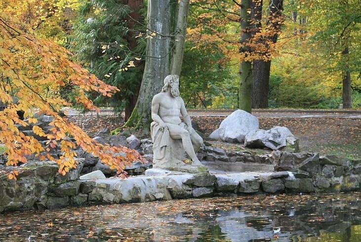 Statue de Neptune à Munster