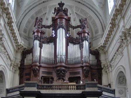 Orgue à St Aubain à Namur