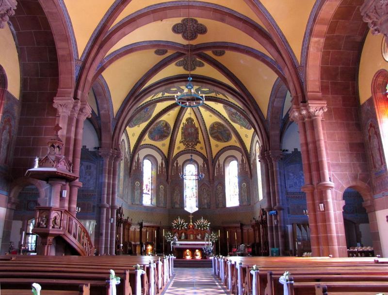 Eglise St Martin à Niederbronn-les-Bains