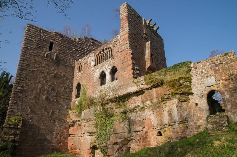 Château de Wasenbourg près de Niederbronn-les-Bains