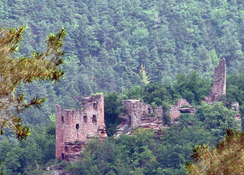Château du Wasigenstein près de Obersteinbach