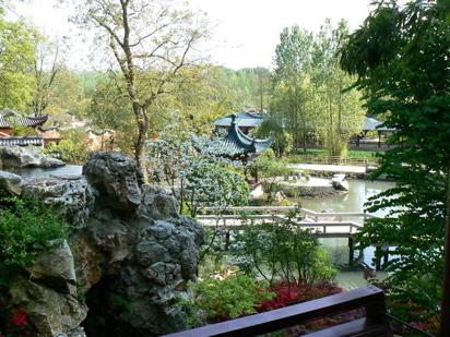 Jardin chinois du Pairi Daiza