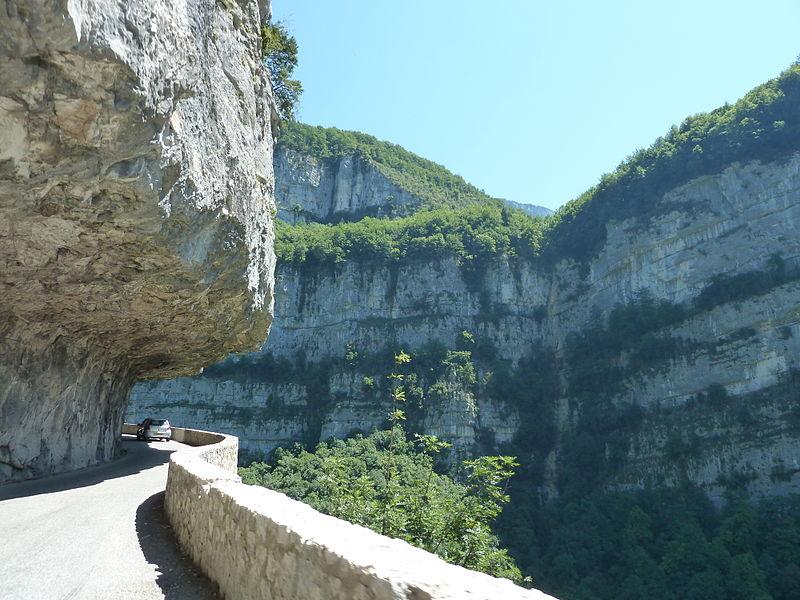 Gorges de la Bourne près de Pont en Royans