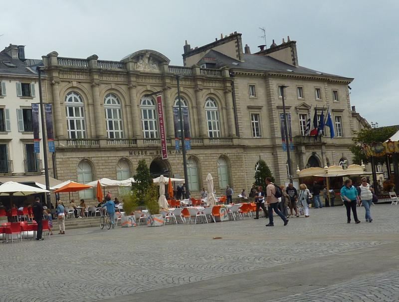 Musée des Beaux-Arts à Quimper