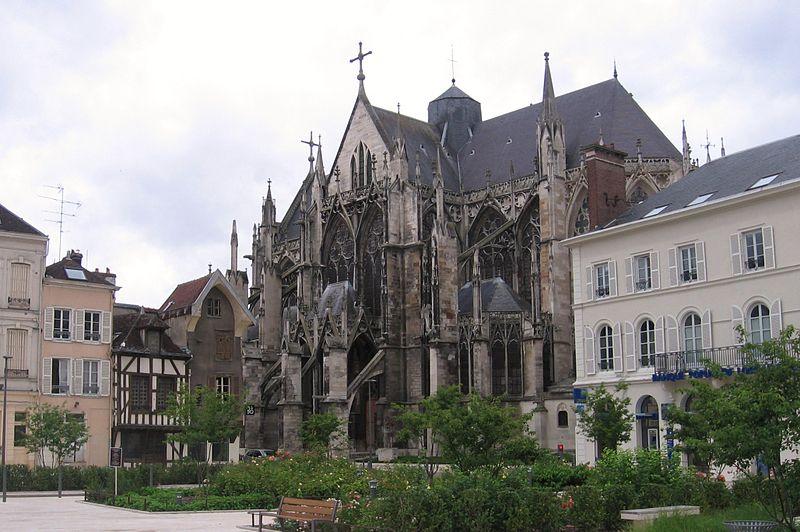 Basilique Saint-Urbain à Troyes