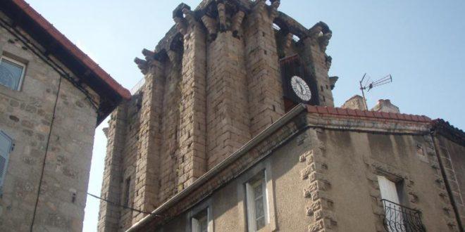 La Tour des Anglais à Saugues