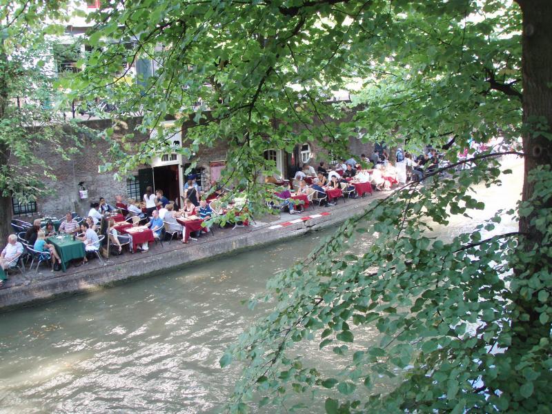 Terrasses à Utrecht