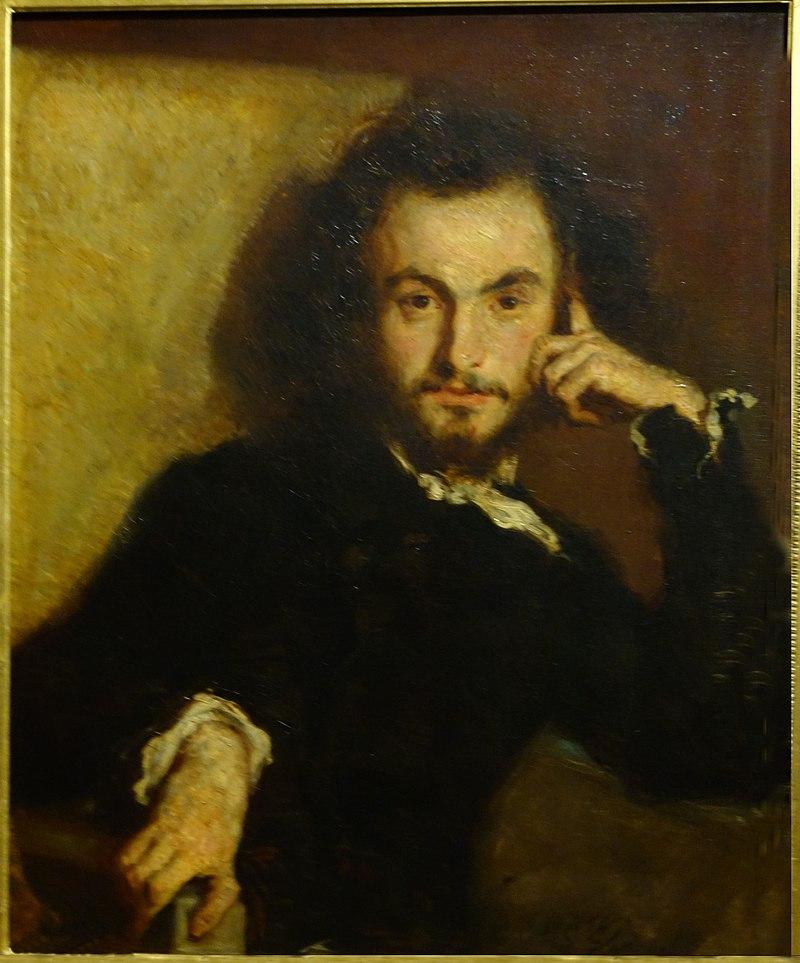 Charles Beaudelaire, par Emile Deroy
