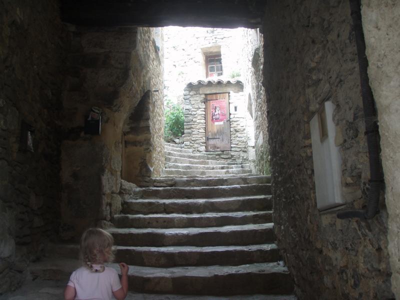 Escalier de Saint-Montan