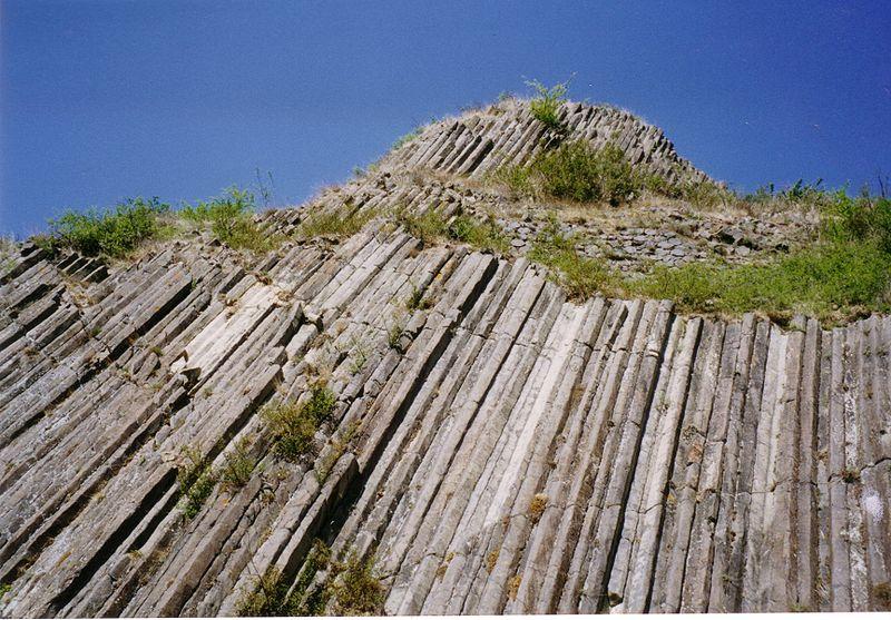 Orgues basaltiques à Usson