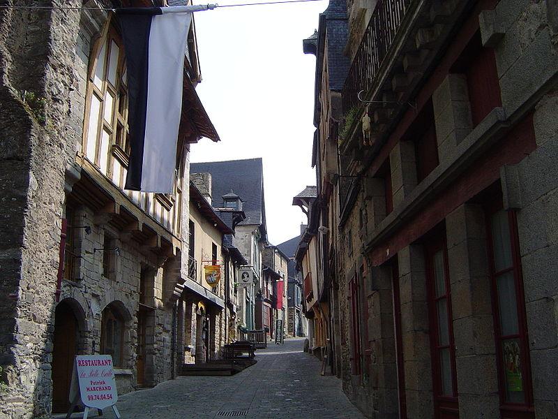 Rue médiévale de Vitré