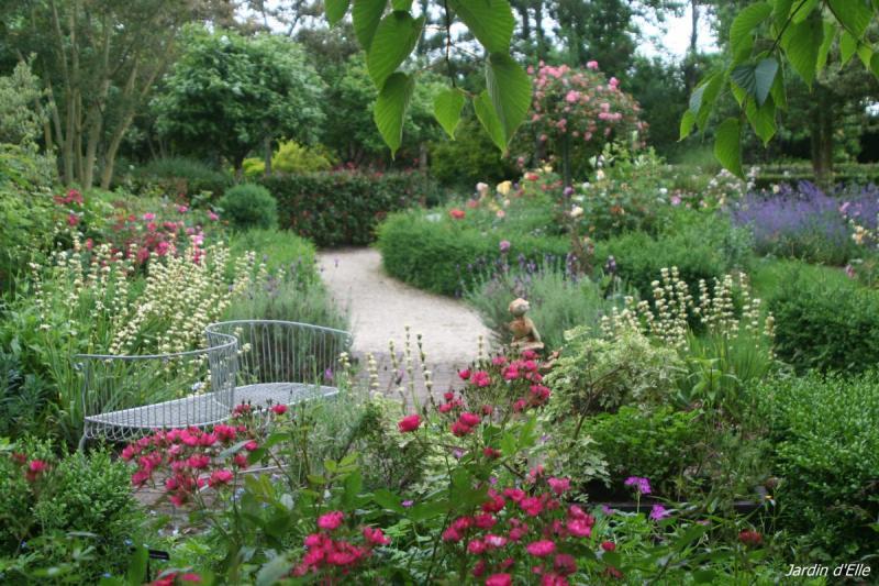 Jardin d'Elle à Saint-Lô