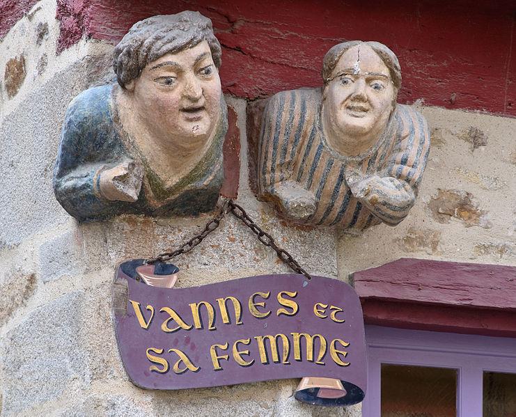 Vannes et sa femme