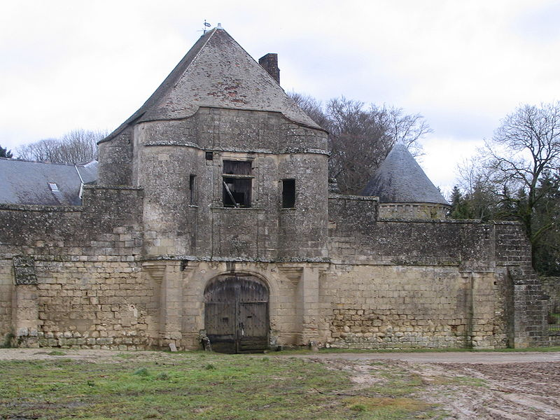 Château de Nouë à Villers-Cotterêts
