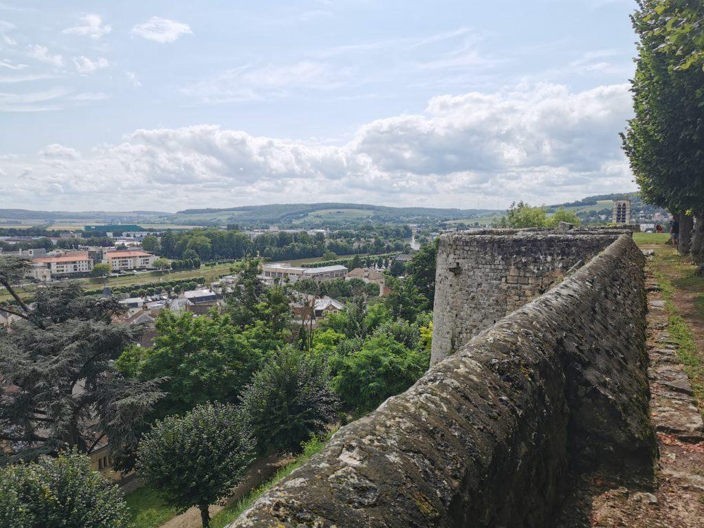 Vue du château de Château-Thierry