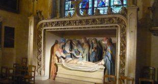 Mise au tombeau à Verneuil-sur-Avre