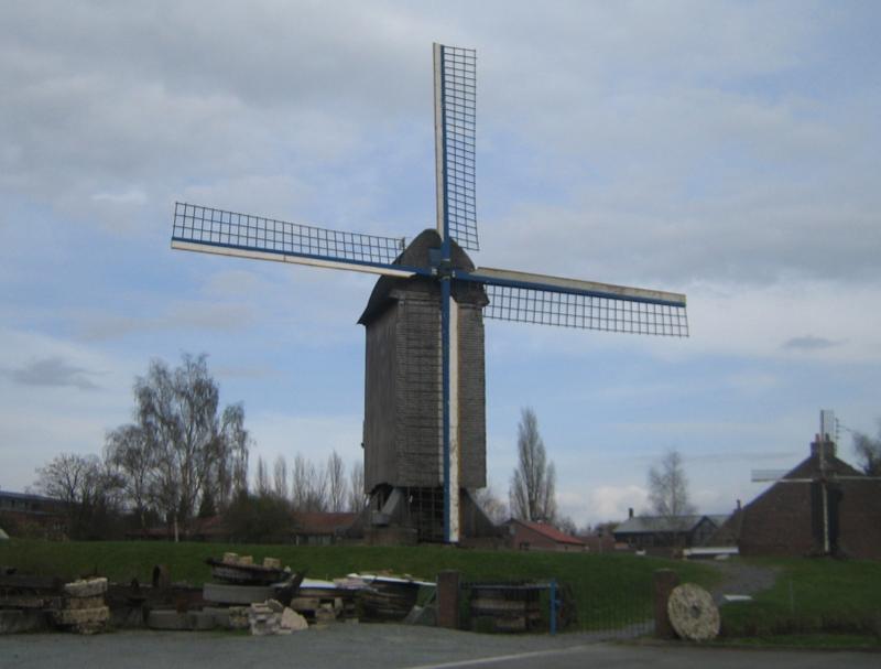 Moulin à farine à Villeneuve-d'Ascq